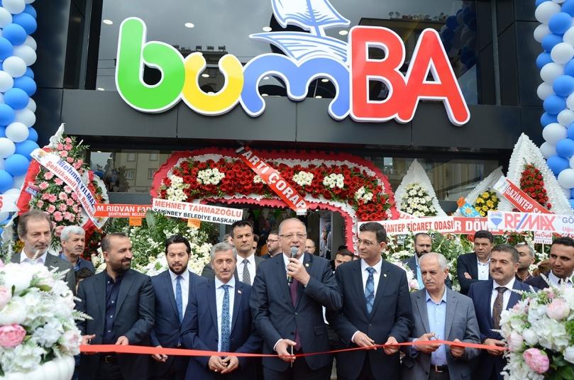 Türkiye'nin En Büyük Konsept Çocuk Mağazası Bumba Kids Gaziantep'te açıldı