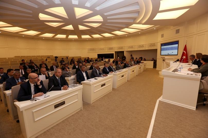 Büyükşehir Belediye Meclisi Başkan Şahin Başkanlığında Toplandı