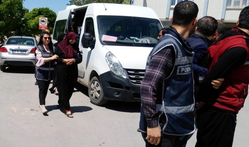 Suriyeli çocuğu kaçıranlar mahkemeye sevk edildi