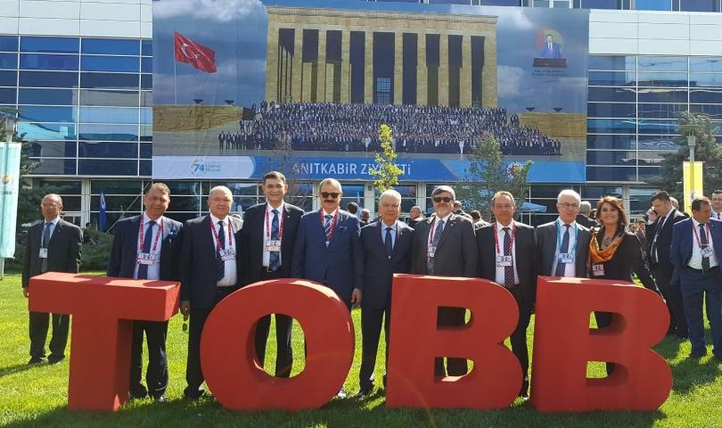 GSO Delegeleri TOBB Genel Kurulu'na Katıldı