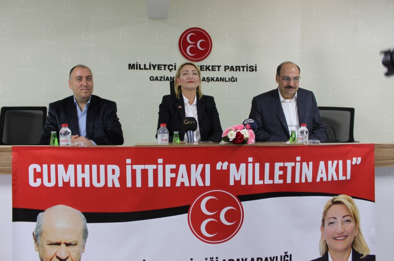 Yeşim Banak MHP'den milletvekili aday adaylığını açıkladı