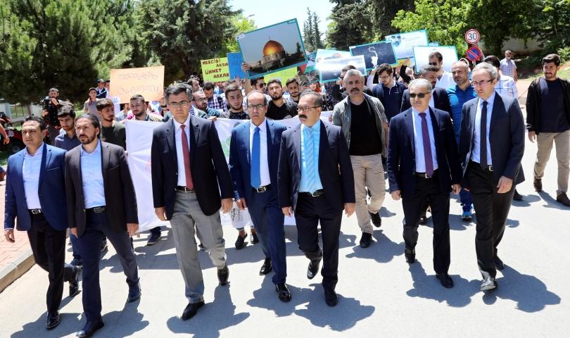 Kudüs için yürüdüler