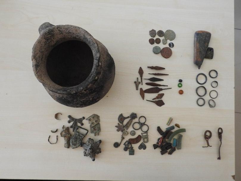 Gaziantep'te Bizans dönemine ait tarihi eser yakalandı