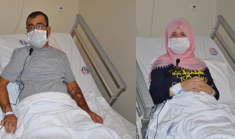 Gaziantep'te organ bağışı iki kişiye hayat verdi