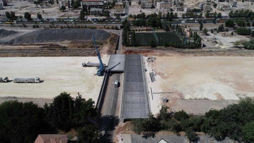 Karşıyaka Köprü İnşaatı Çalışmalarında Sona Yaklaşıldı