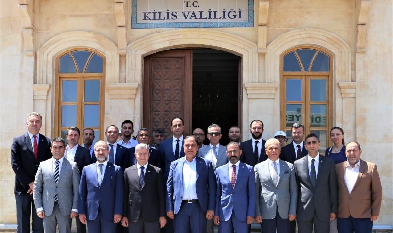 GTO Heyetinden Kilis'e Ziyaret