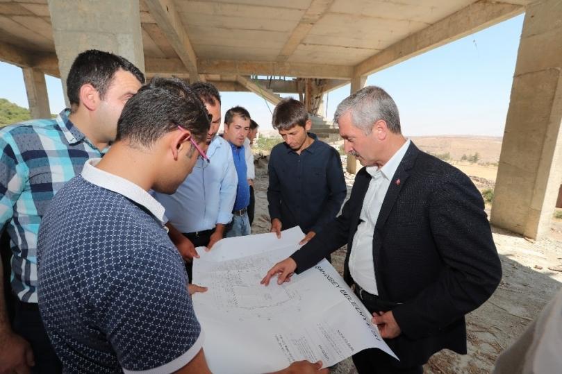 Şahinbey'de sosyal tesis ve taziye evi seferberliği