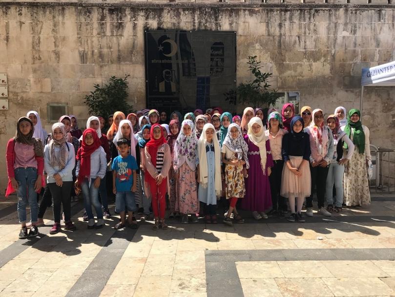 Kur'an-ı Kerim Kursuna Katılan Öğrencilere Özel Gezi