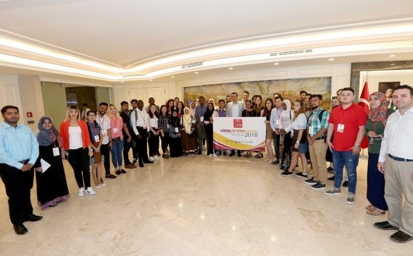 Gaziantep Büyükşehir belediyesi 27 ülkeden 40 öğrenciyi ağırlıyor