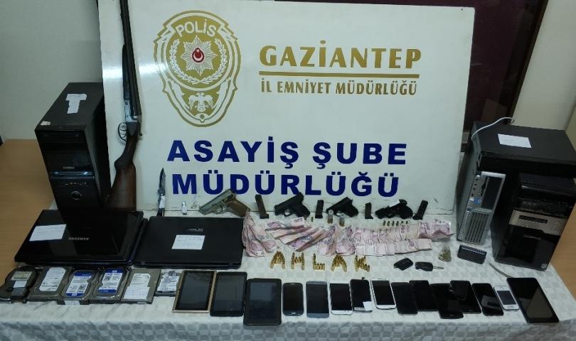 Gaziantep'te fuhuş operasyonunda 43 gözaltı