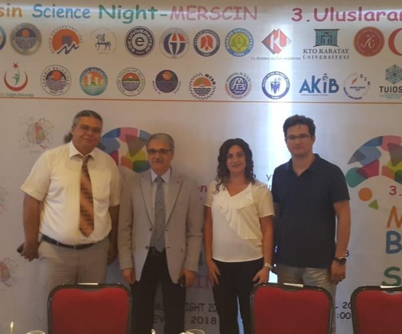 Gaziantep Üniversitesi MERSCIN Projesi'nde
