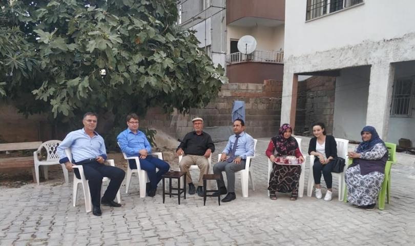Nurdağı Kaymakamı'ndan Şehit Polis Memuru Emin Güler'in Ailesine ziyaret