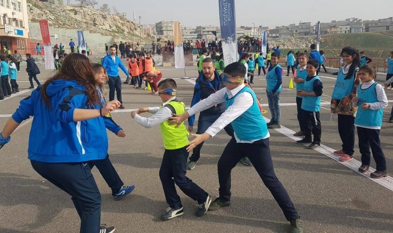 Okulda Şenlik Var Projesi 100 Bin'e Yaklaştı