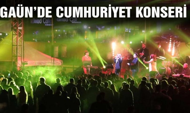 GAÜN'de Cumhuriyet Konseri