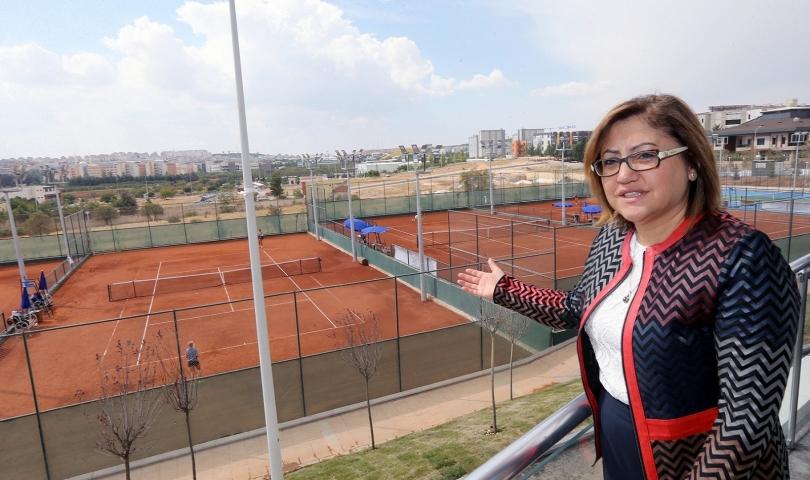 Genç Şehrin Spor Alanları Çoğaldı
