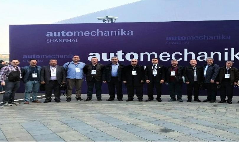 """GTO Üyelerinden """"Çin Automechanika"""" Otomotiv Fuarına İş Gezisi"""