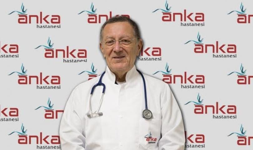 Genel Cerrahi Uzmanı Prof. Dr. Hasan Yavuz Burdurlu Anka'da