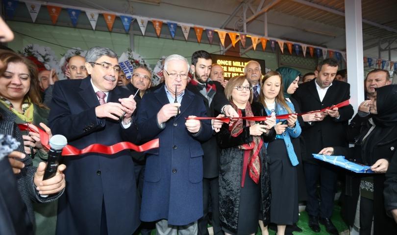 Seçim Koordinasyon Merkezi Açılışlarına Katıldı
