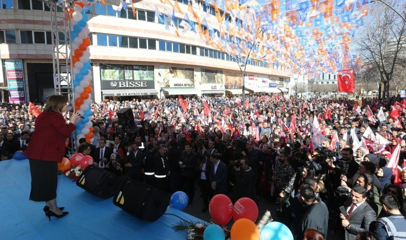 Başkan Şahin'in Seçim Koordinasyon Merkezi Açıldı