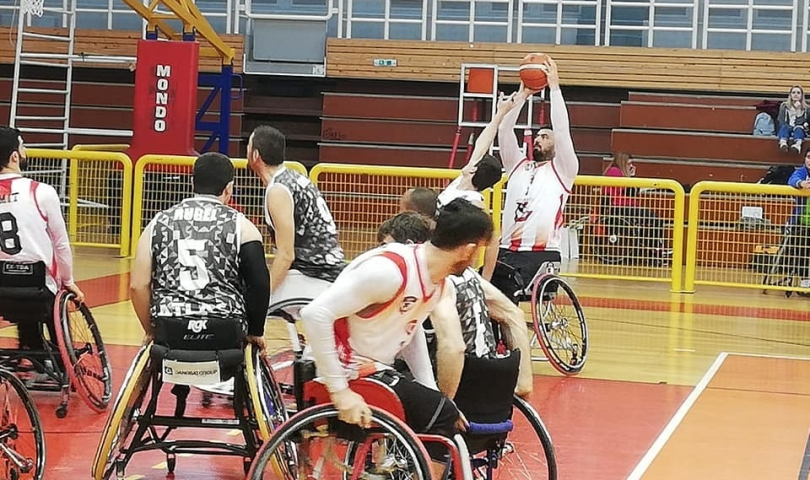 Gaziantep Tekerlekli Sandalye Basketbol Takımı Euroleague c Grubunda Namağlup Şampiyon Oldu