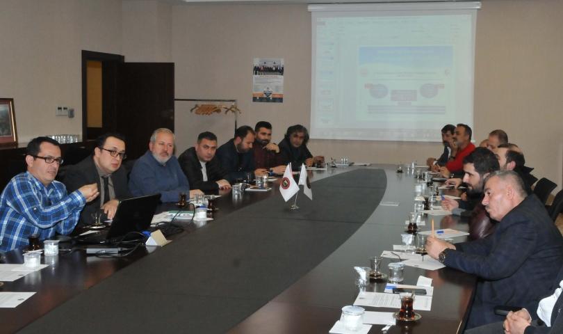 Triko Ve Hazır Giyim Sektör Toplantısı GSO'da Yapıldı