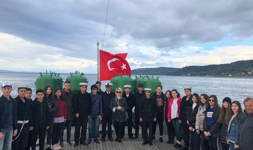 Sanko Öğrencileri Çanakkale'de
