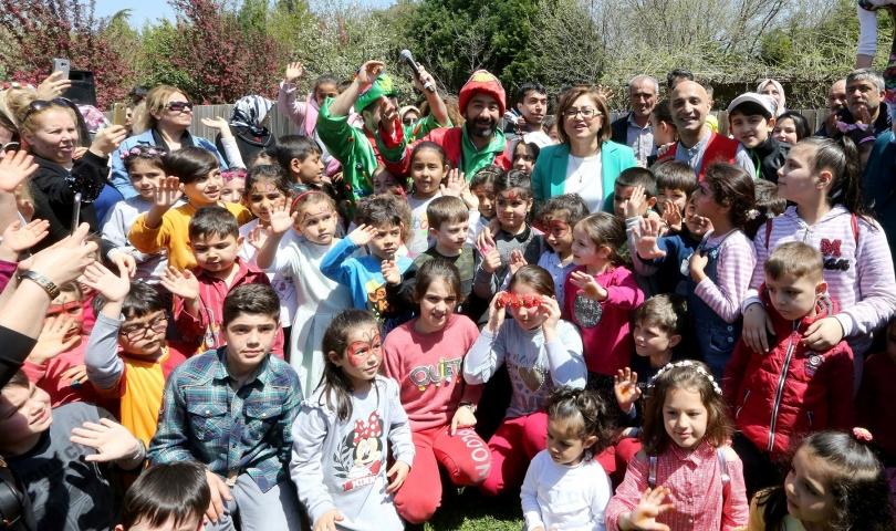 Gaziantep'te Bahar Şenliği Başladı