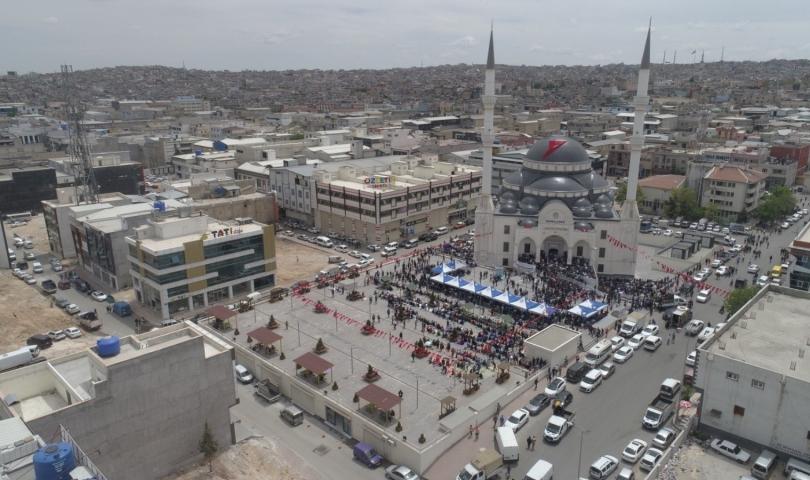 Tekstilkent Ensar Cami İbadete Açıldı