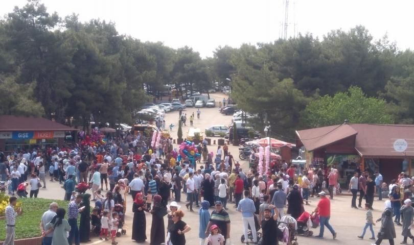Gaziantep Hayvanat Bahçesi, 500 bin kişiyi ağırladı
