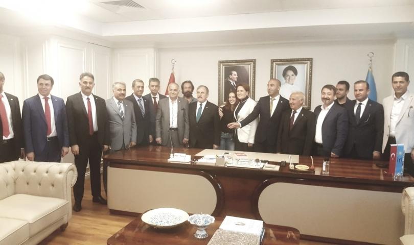 Doğu ve Güneydoğu İl Başkanlarından İmamoğlu'na büyük destek