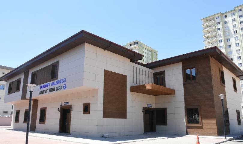 Şahinbey'in sosyal tesis ağı genişliyor