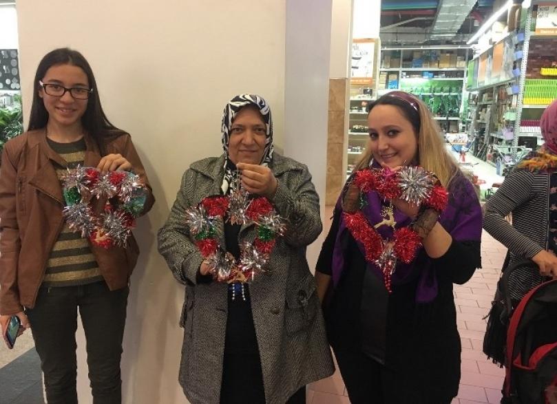 Forum Gaziantep'te kadınlar yeteneklerini konuşturdu