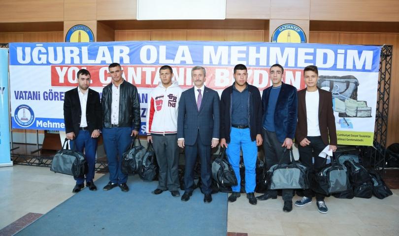 Şahinbey Belediyesi Mehmetçiğin yanında