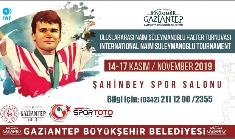 Naim Süleymanoğlu Turnuvası düzenlenecek