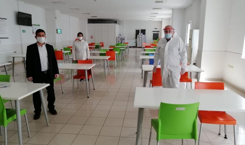 Gaziantep Organize Sanayi Bölgesi'nde Taramalar Başladı