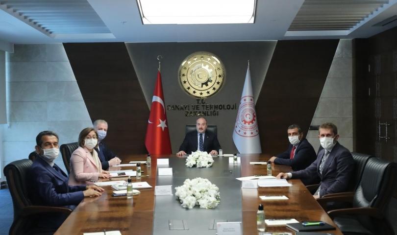 Başkan Fatma Şahin'den Ankara çıkarması