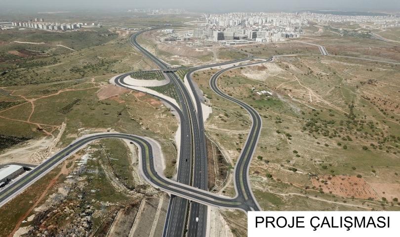 Şehir hastanesi'nin ulaşımı köprülü kavşak ile sağlanacak