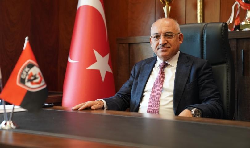 Gaziantep FK Başkanı Büyükekşi, ligi değerlendirdi