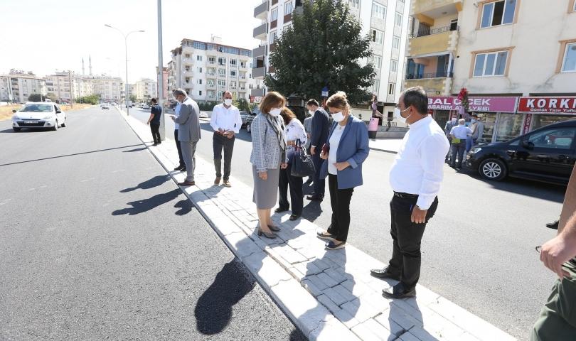 Fatma Şahin, mahalle ziyaretlerine devam ediyor