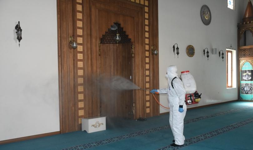Şahinbey'de dezenfekte çalışmaları sürüyor