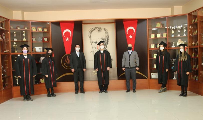 GKV IB Cemil Alevli Koleji'nde mezuniyet heyecanı