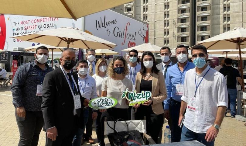Nizip Ticaret Odası Heyeti Dubai Gulfood 2021 Gıda Fuarı'nda