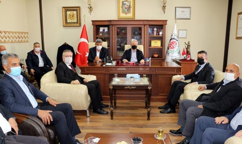 MHP Gaziantep Heyetinden NTO'ya Ziyaret