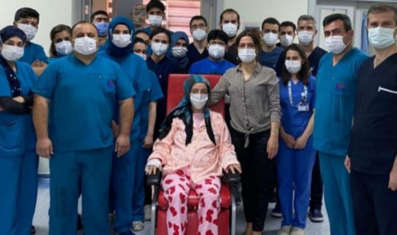 GAÜN Hastanesi mucize bir kurtuluşa imza attı
