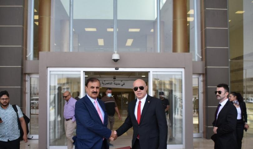 Universal Acarsan'ın Irak'ta inşaa ettiği hastanelerden 6.'sı hizmete açıldı