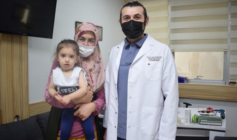 6 parmaklı bebeğe ANKA'da başarılı operasyon