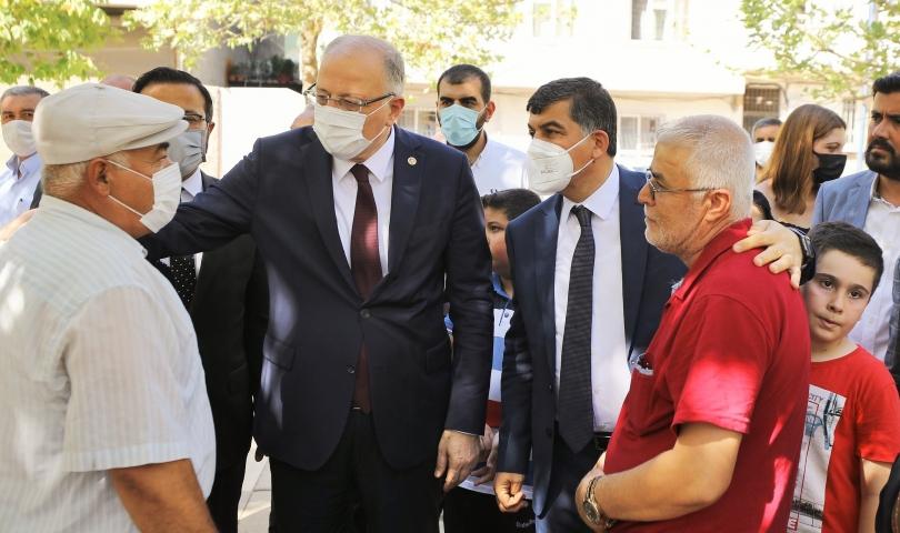 Kemal Bağcı Parkı, yeniden hizmete sunuldu