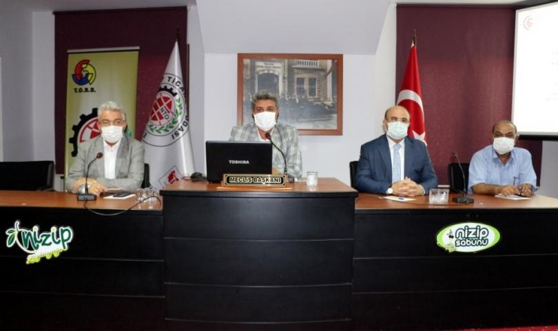 NTO Meclisi Nizip Belediye Başkanı Mehmet Sarı'yı ağırladı