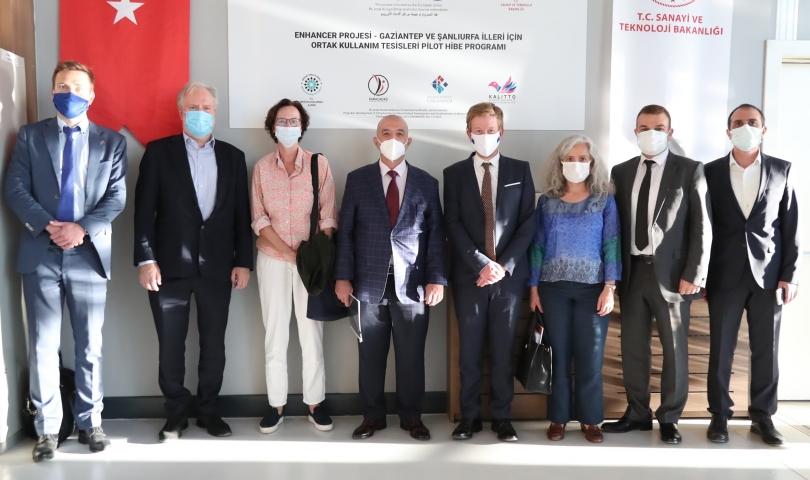 Avrupa Birliği Delegasyonundan HKÜ'ye Proje ziyareti