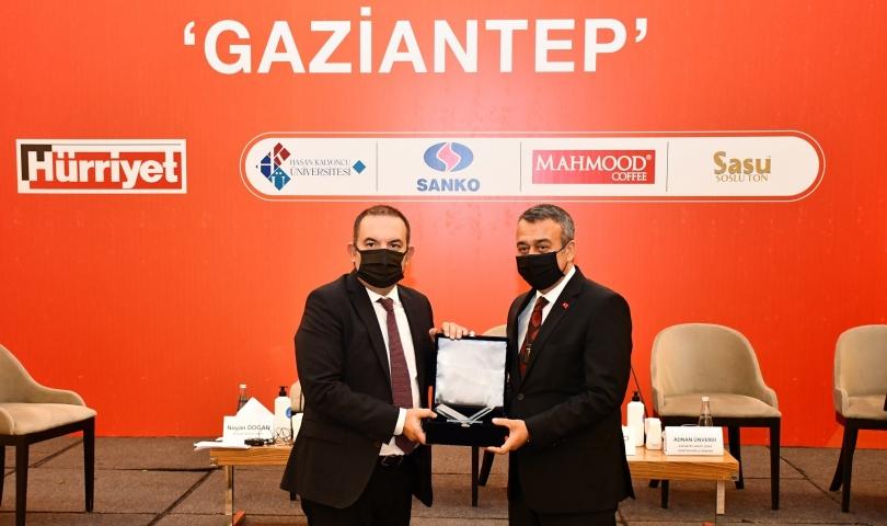 GAİB Koordinatör Başkanı Ahmet Fikret Kileci, Gaziantep Ekonomi Zirvesi'nde konuştu